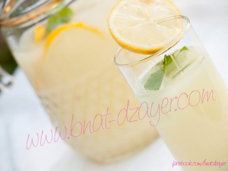 cherbat-charbet-citron-boisson-citronade-ramadhan