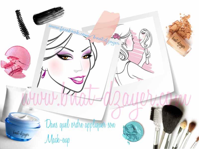 Dans quel ordre appliquer son maquillage bnat dzayer - Purger les radiateurs dans quel ordre ...