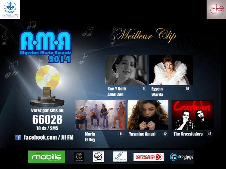 Algerian-music-awards-2014-algerie-meilleur-clip