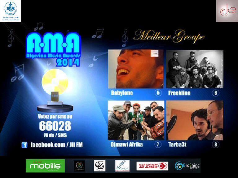 Algerian-music-awards-2014-algerie-meilleur-groupe