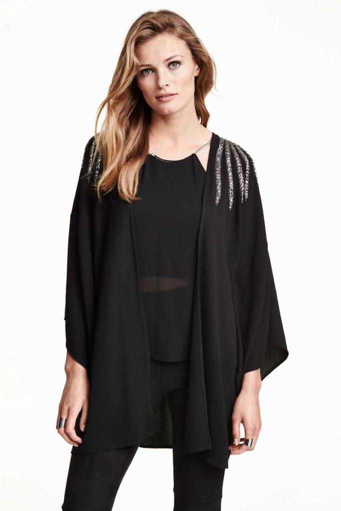 Kimono brodé H&M